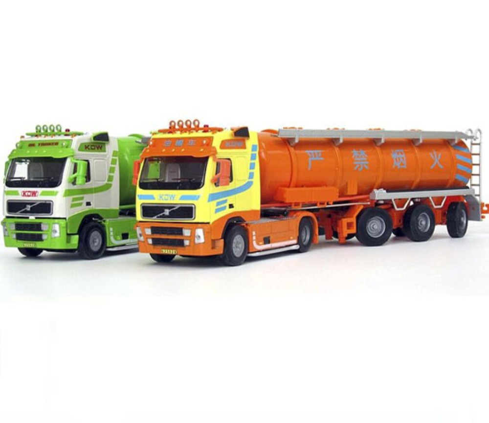 Oil Tank Truck 1:50 Heavy Diecast Model KDW625028W
