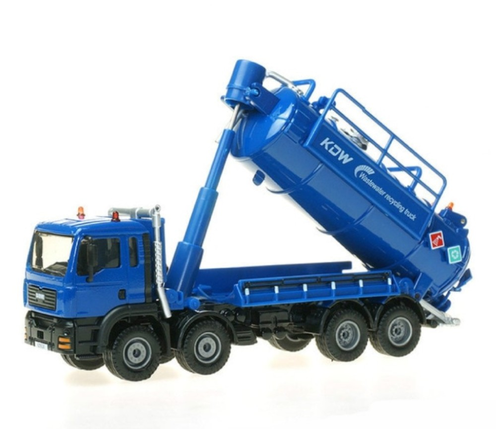 Water Recycling Truck 1:50 Heavy Die cast Model KDW625030W