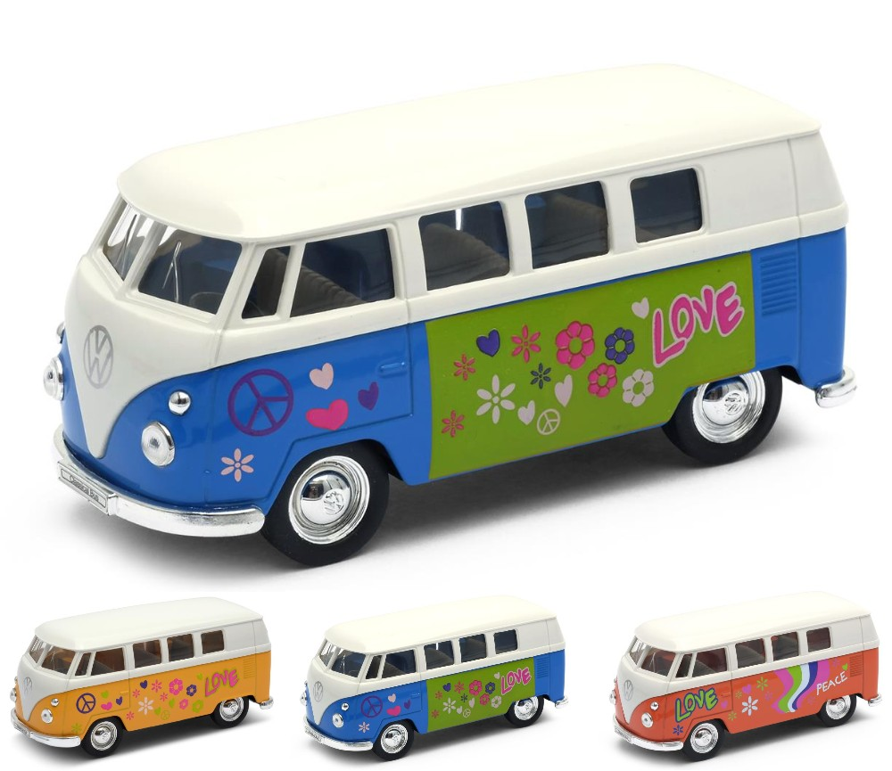 1963 VW Bus T1 with Fanny Graphic (1:38) WL49764A-D